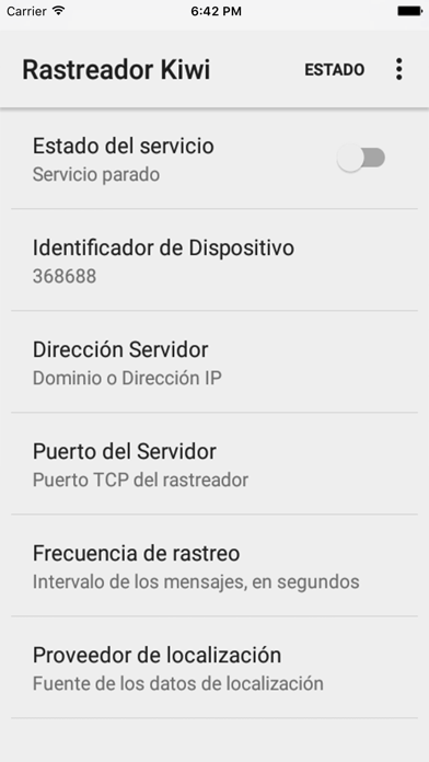 Rastrea tu iPhone o iPad en Kiwi GPS screenshot two