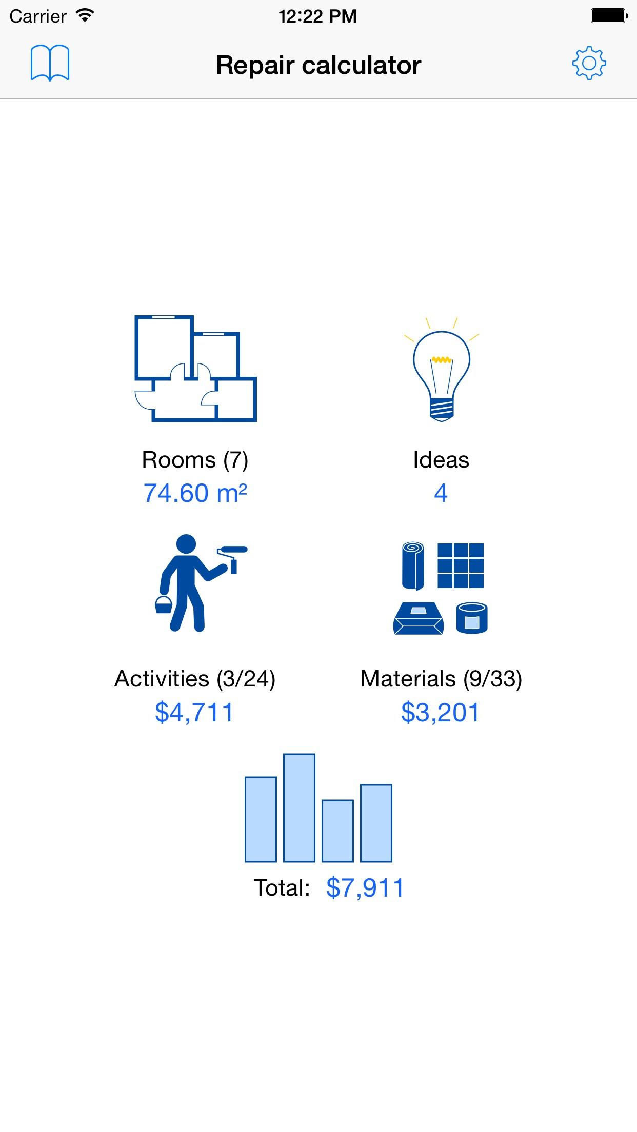 Apartment renovation plan Screenshot