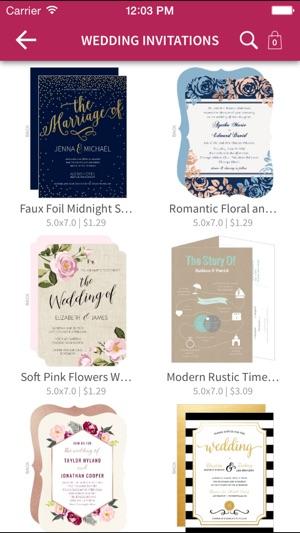 WeddingPaperie Invites more on the App Store