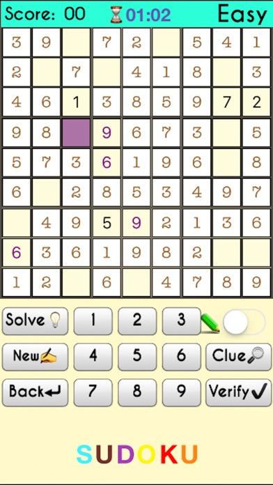 Sudoku 2 - Premium screenshot 1