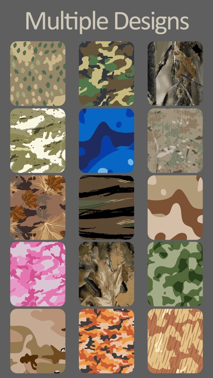 Camouflage Yo Watch! - Faces