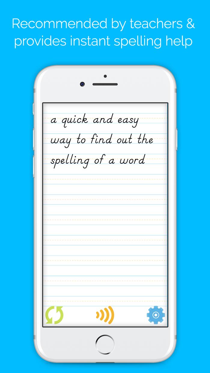 Easy Spelling Aid + Translator & Dyslexia Support Screenshot