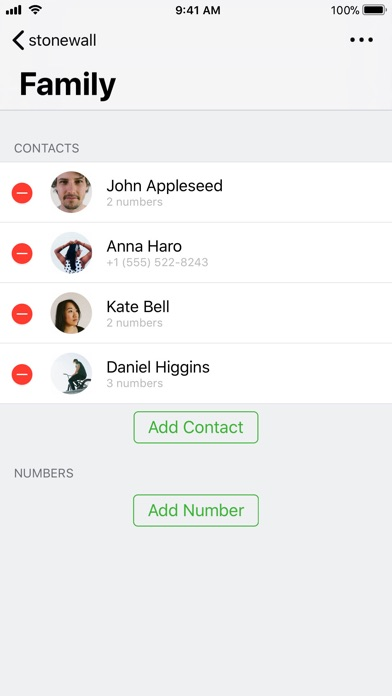 stonewall call blocker app