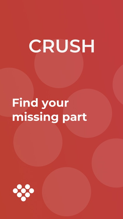 Dating app - CRUSH
