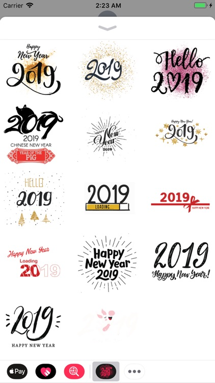 Happy New Year Wishes Sticker screenshot-4