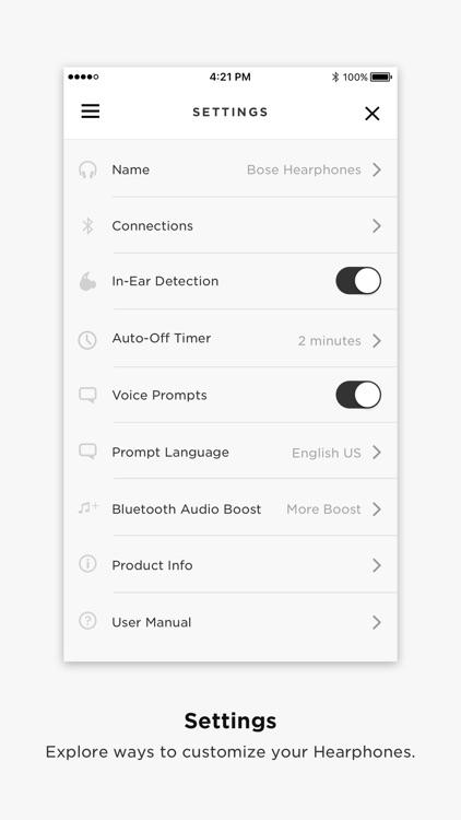 Bose® Hear screenshot-3