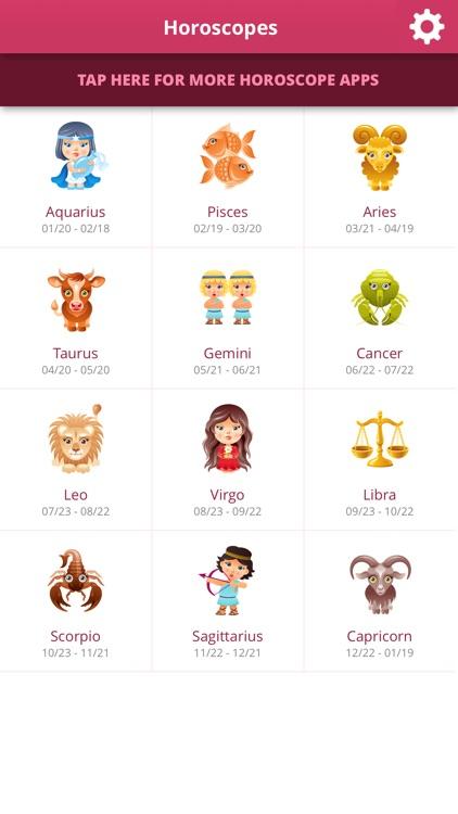 Horoscopes screenshot-3