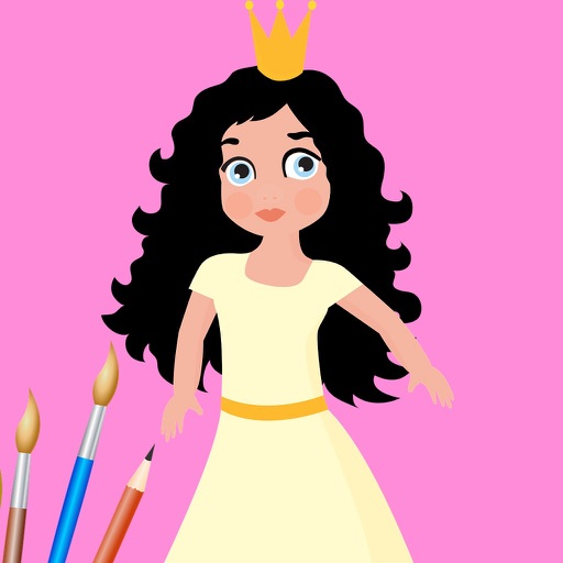 لعبة بنات رسم وتلوين