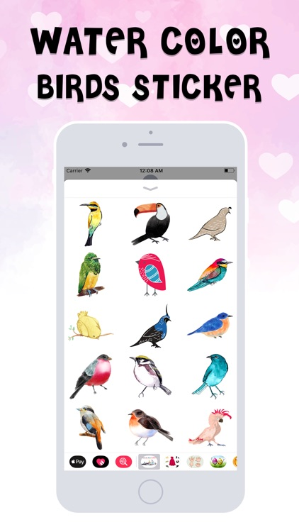 Birds Stickers!