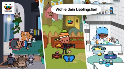 Screenshot for Toca Life: Pets in Germany App Store