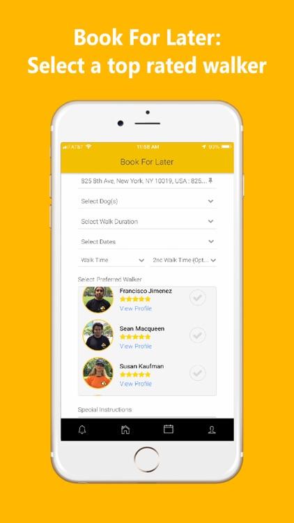UDog On Demand Dog Walking App screenshot-4