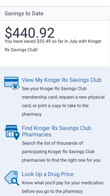 KrogerRxSC screenshot-4