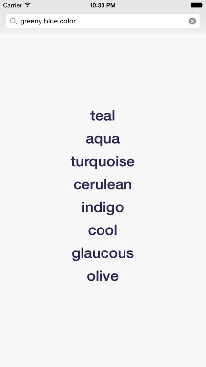 Writing Aid — Dictionary screenshot-0