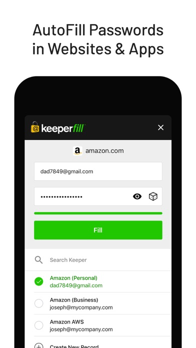 Keeper Password Manager screenshot four
