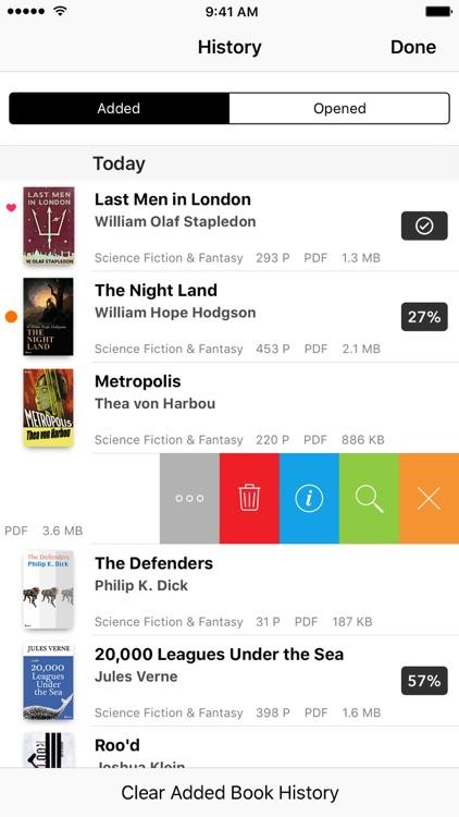 Booklover - comic/ebook reader screenshot-3