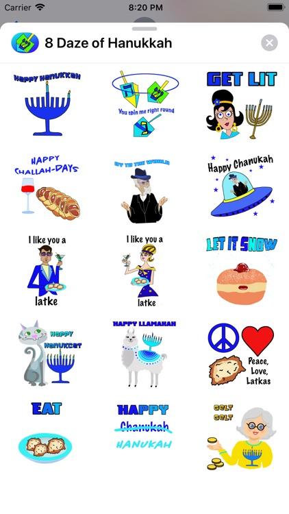 8 Daze of Hanukkah