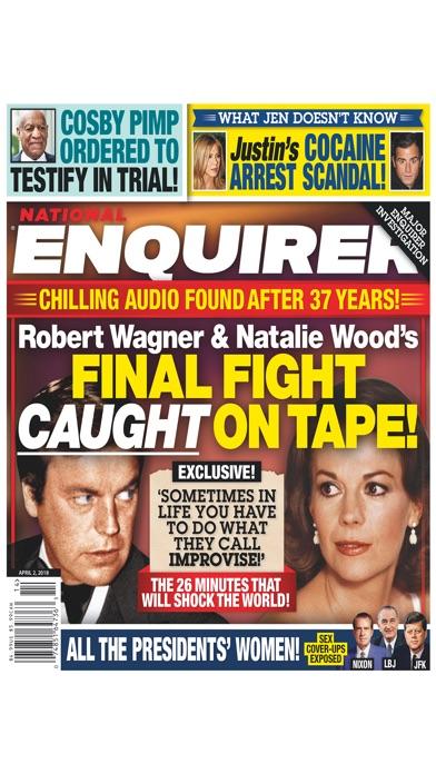 National Enquirer review screenshots