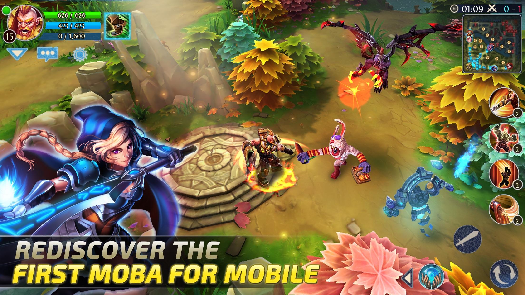 Heroes of Order & Chaos - Multiplayer Online Game Screenshot