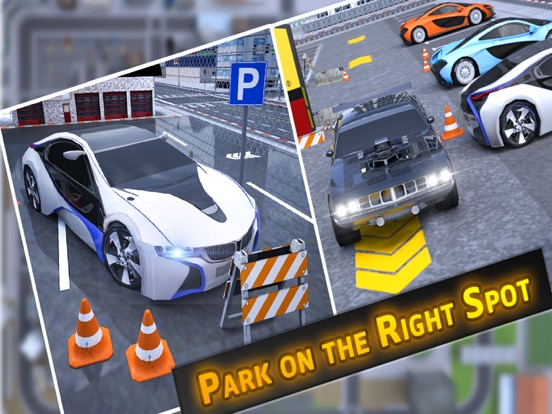 Driving Car Test Drive Parking-ipad-4