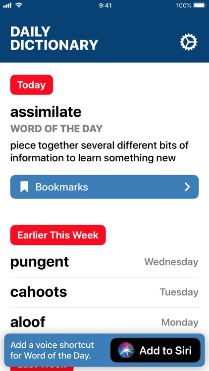 Daily Dictionary
