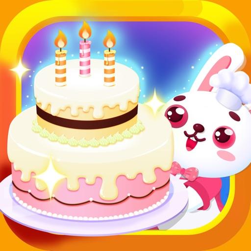 儿童蛋糕店-角色扮演-儿童教育游戏
