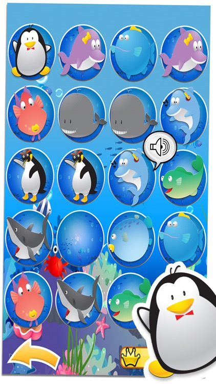 Penguin Pairs - Matching Game screenshot-0