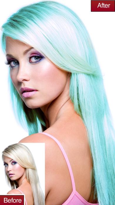 Hair Colour Lab Change or Dye