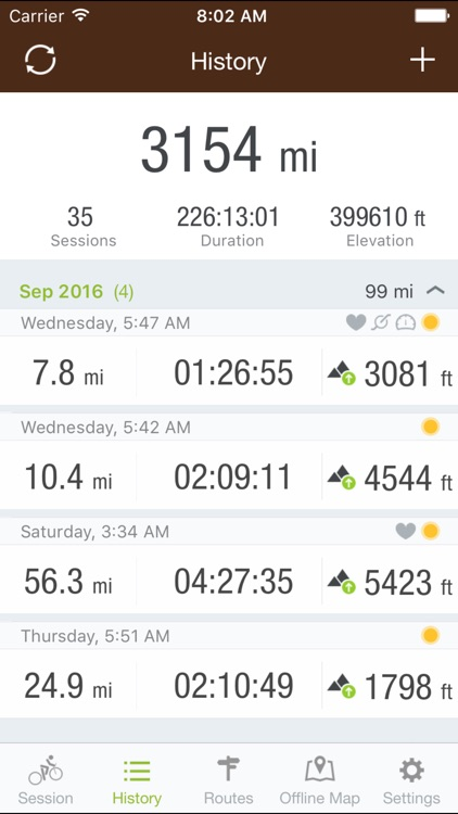 Runtastic Mountain Bike PRO screenshot-3