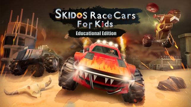 Captivating  SKIDOS Kids Car Cool Math Game On The App Store