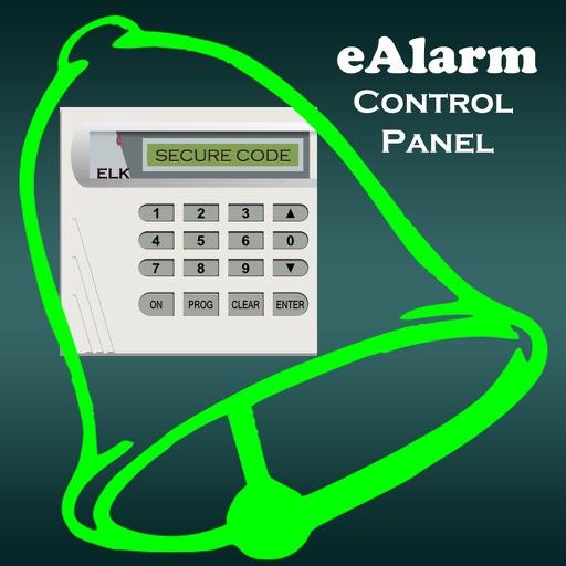 eAlarm - Elk Control Panel