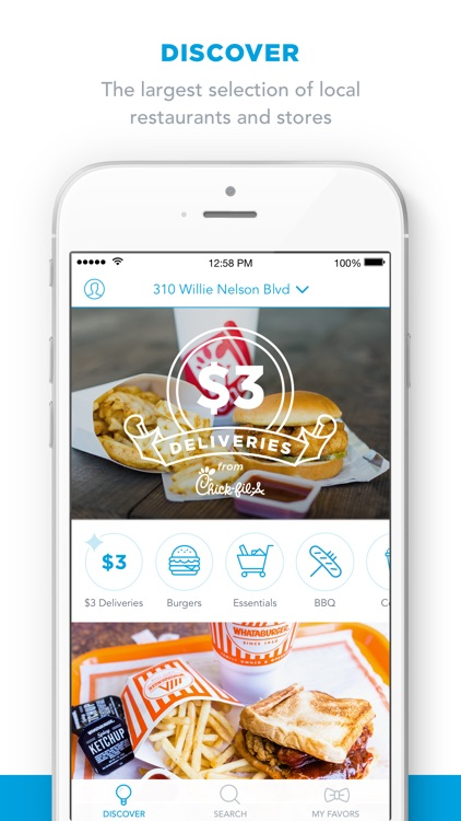 Favor - Food Delivery screenshot-3