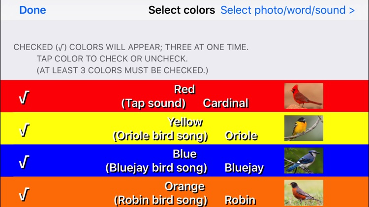 Color Touch: Birds screenshot-4