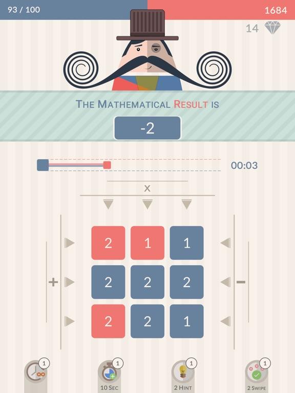 Mr. Mustachio : #100 Rounds на iPad