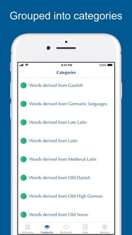 Old English Etymology screenshot-5