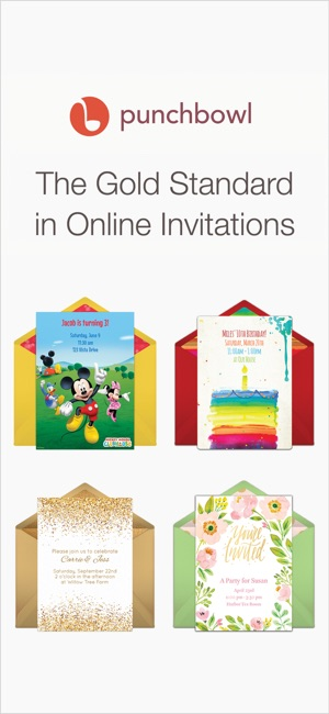 Punchbowl online invitations on the app store screenshots stopboris