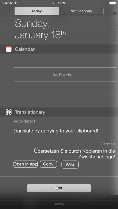 点击获取Translationary - Translation