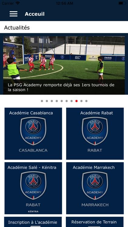 PSG Academy Maroc