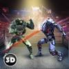 机器人环摔跤战斗