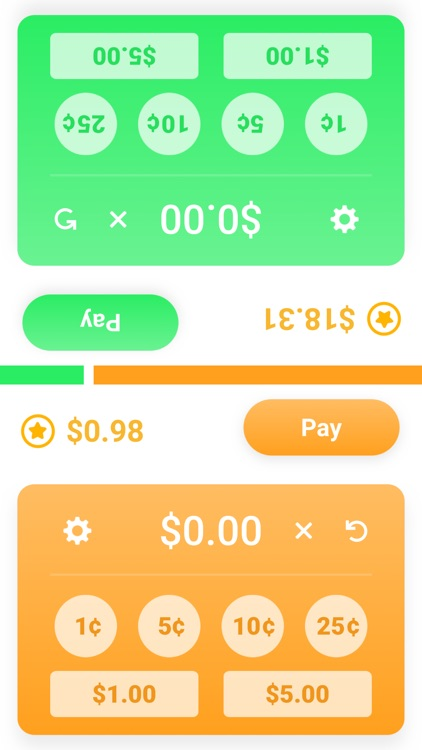 Money Math Duel - Split Screen screenshot-3