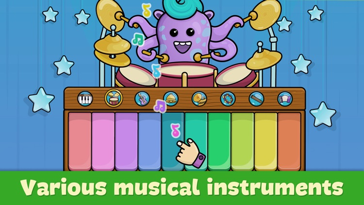 Baby piano for kids & toddlers screenshot-4