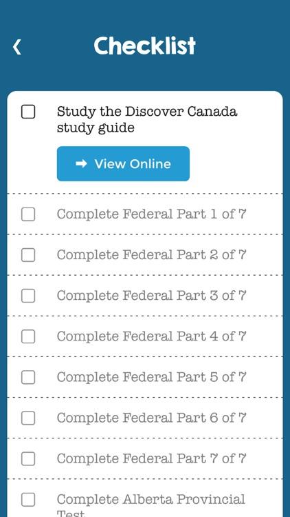 Canadian Citizenship Tests screenshot-3