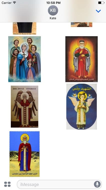 Coptic Saints Stickers screenshot-4