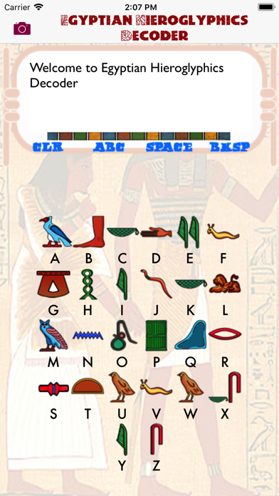 Egyptian Hieroglyphics Decoderのおすすめ画像1