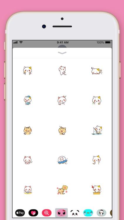 Cute Cat Kawaii Stickers screenshot-3