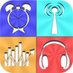 Live News Stock Weather & Clock Radio