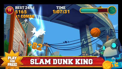 Slam Dunk King screenshot one