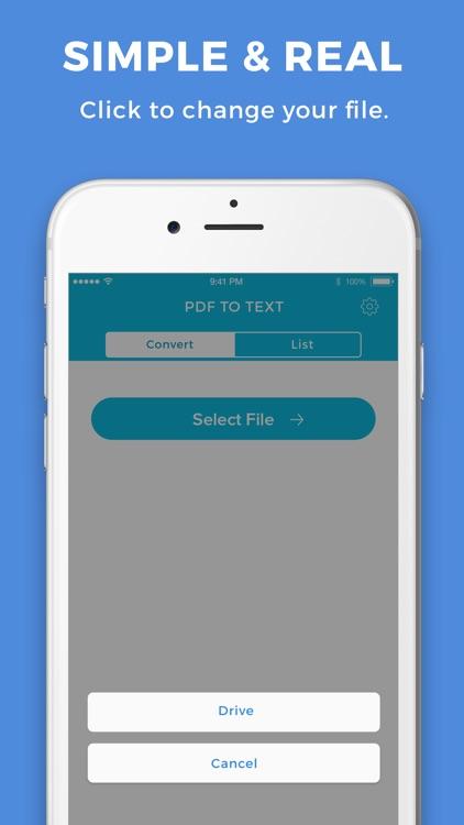 PDF To Text Converter screenshot-3
