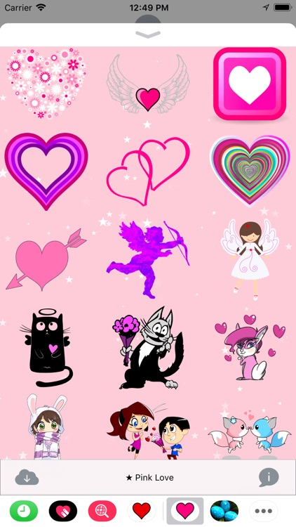Pink Love • Stickers screenshot-3