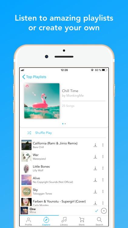 MonkingMe Download Music screenshot-4