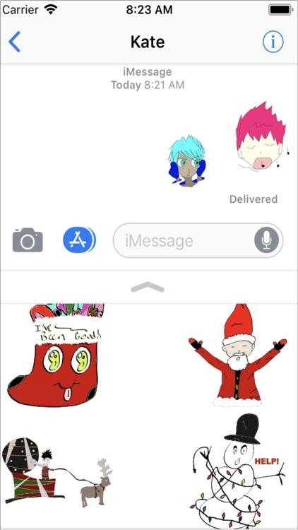 Momi Emojis' SnowGlobe